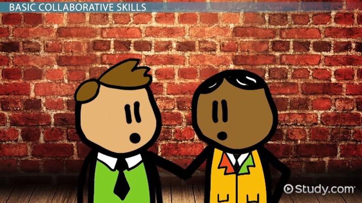 Collaborative Skills: Definition & Explanation - Video