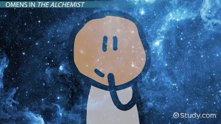 omens in the alchemist video lesson transcript com