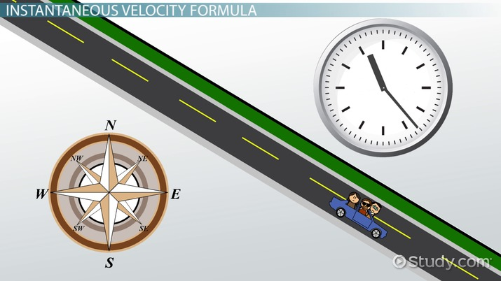 Instantaneous Velocity: Definition & Formula