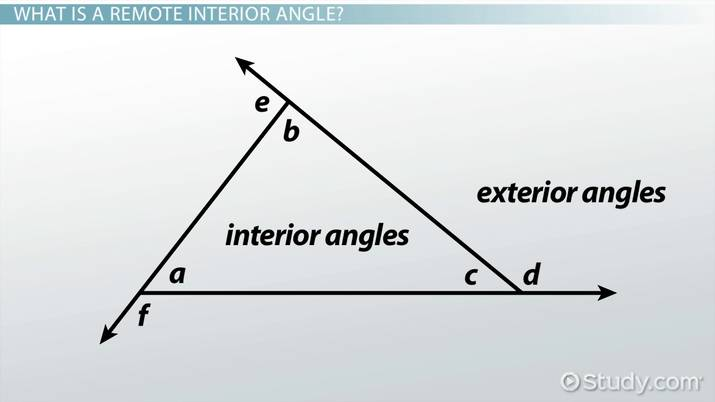 Interior Angles Definition
