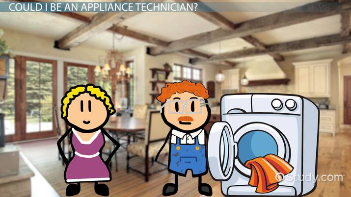 become an appliance technician career and training
