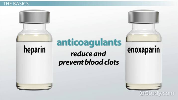 Difference Between Enoxaparin And Heparin Video Lesson