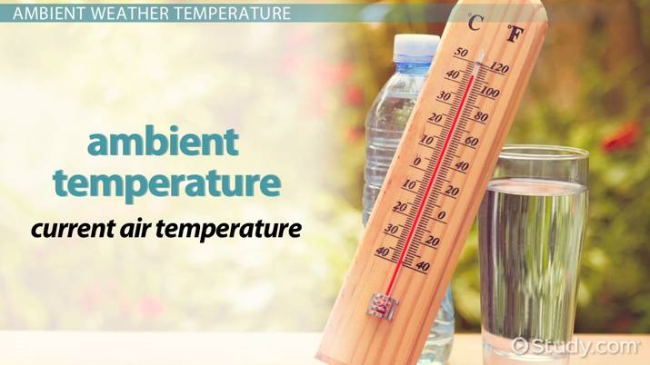 Ambient Temperature: Definition & Range - Video & Lesson
