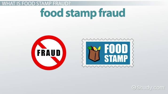 What Is Food Stamp Fraud