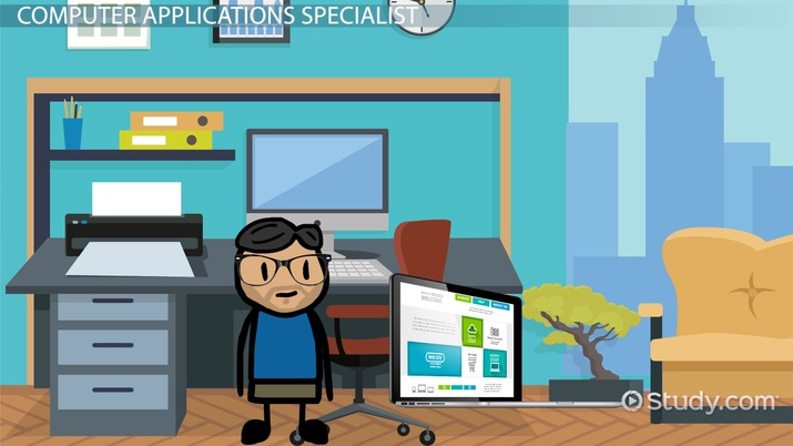 How to Become a Computer Applications Specialist