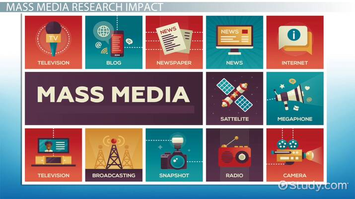 What Is Mass Media Research Definition Examples Video