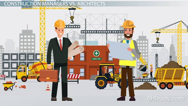 construction manager vs architects what s the difference