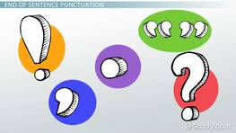 Punctuation Lesson for Kids: Rules & Examples