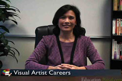 Visual Artist Career Video for Art and Graphic Design Students