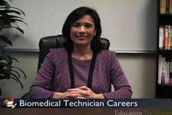 Video for Biomedical Engineering Technology Degree Program Information