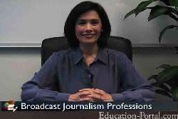 Video for Broadcast Journalism Major and Undergraduate Degree Program Info