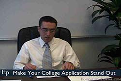 Make Your College Application Stand Out Video