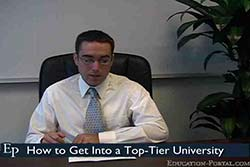 How to Get Into a Top-Tier University Video