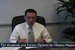 Academic and Career Options for History Majors Video
