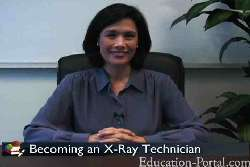 Video for X-Ray Tech Programs with Prerequisite and Coursework Information