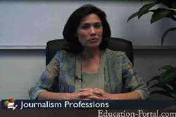 Video for Newspaper Journalist: Career Education in News Journalism
