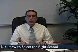 07 how to select the right school bible black video