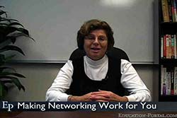 Making Job Networking Work for You Video