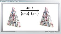 Partial Fraction Decomposition: Rules & Examples