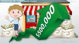 Corporate Tax Rate: Definition & Formula