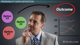 Business Decision Analysis for Cases with Probability Data
