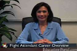 Video for Flight Attendant: Educational and Training Requirements