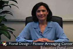 Video for Floral Arrangement Classes and Training Program Information