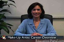 Video for Make-Up Artist Job Duties and Employment Outlook