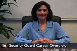 Video for Security Guard Schools and Colleges with Program Summaries