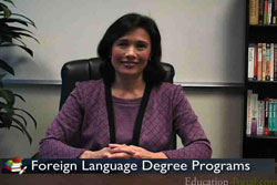 Foreign Language Degree Programs and Career Video