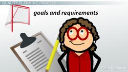 What Is Quality Planning? - Definition, Process & Tools
