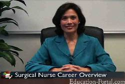 Video for Surgery Assistant Course and Class Descriptions
