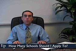 How Many Schools Should I Apply To Video