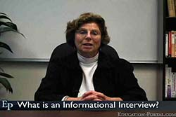 Informational Interviews: A Great Way to Research Careers Video