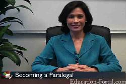 Paralegal Studies Career Video: Becoming a Paralegal