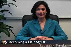 Video for Hair Stylist Training Programs and Requirements