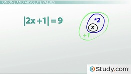 Solving Absolute Value Practice Problems