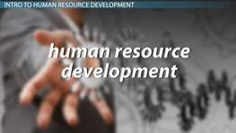 Human Resource Development: Characteristics & Challenges