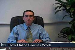 How Online Courses Work Video