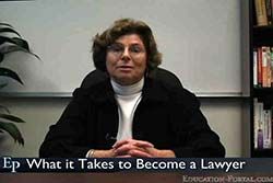 Becoming a Lawyer: From Law School to Starting a Law Career Video