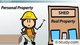 Real Property and Personal Property: Definition and Differences