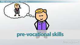 What are Pre-Vocational Skills?