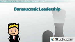 The Bureaucratic Leader