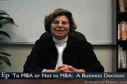 To MBA or Not to MBA: A Business Decision Video