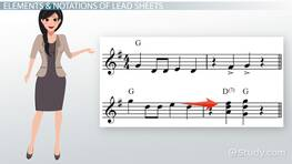 Lead Sheet: Function, Elements & Notation