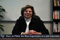 Tips for Making the Best Impression at a Job Interview Video