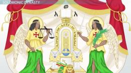 Ethiopia's Solomonic Dynasty & Church Support
