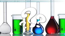 What is Chemistry? - Definition, History & Topics