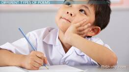 How to Write a Poem: Lesson for Kids