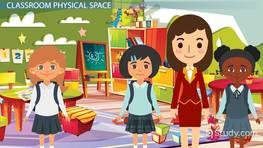 Managing the Physical Space for Early Childhood Learning